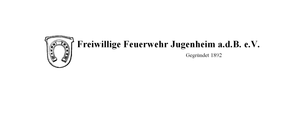 Jahreshauptversammlung Freiwillige Feuerwehr Jugenheim a.d.B. e.V. 2020